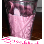 Blackberry Breakfast Shake