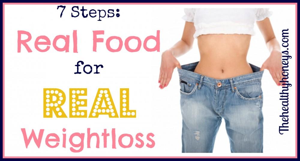 real food weightloss