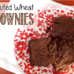 Moist Sprouted Wheat Brownies