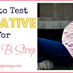 How to Test Negative for GBS