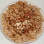 Overnight Pumpkin Spice Oatmeal