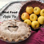 Real Food Apple Pie