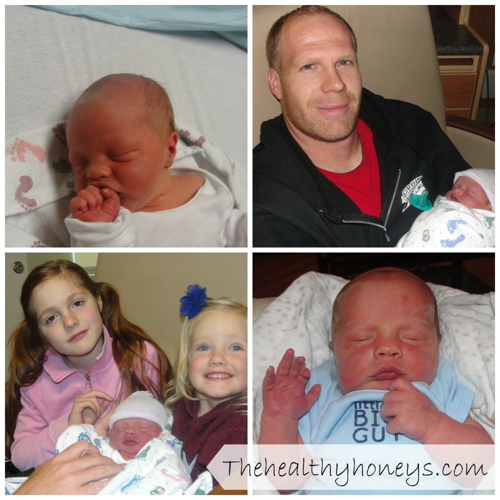 birth story collage
