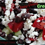 Easy-Peasy Greek Salad