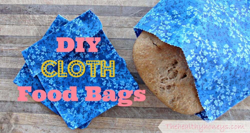 DIY cloth food bags