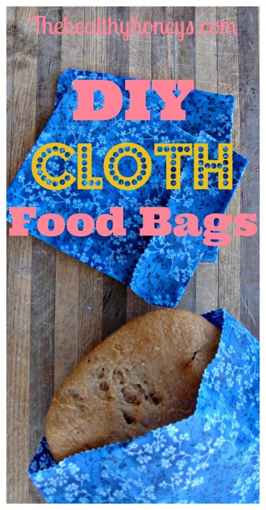 DIY cloth food bags p