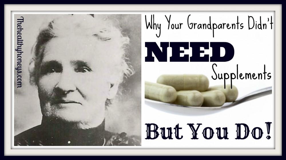 Need supplements