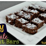 Nutty Chocolate Coconut Bars