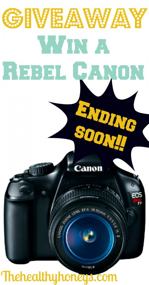Win a Canon Rebel!!