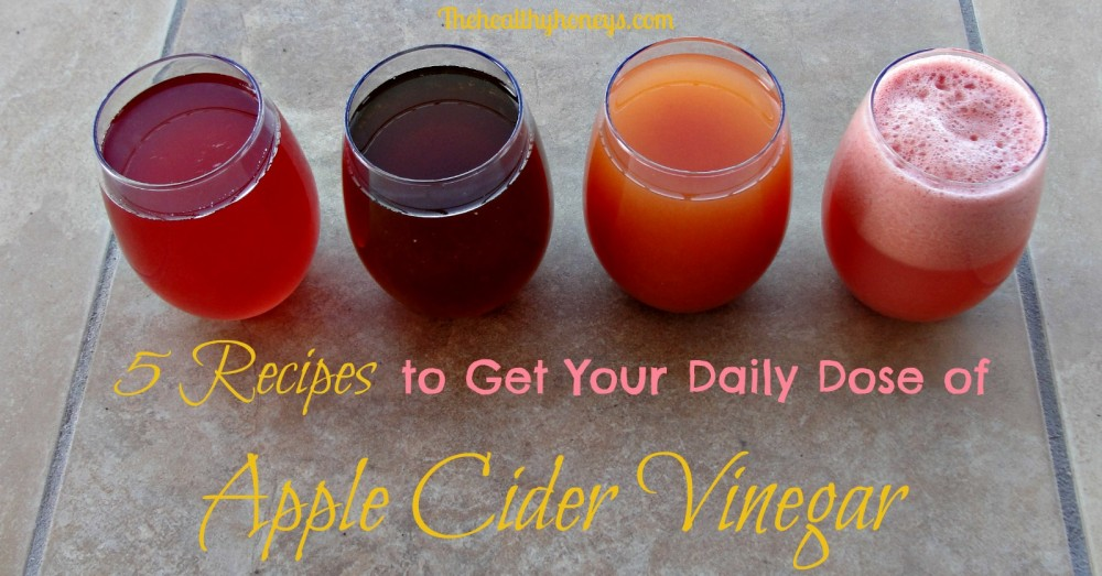 recipes for taking apple cider vinegar