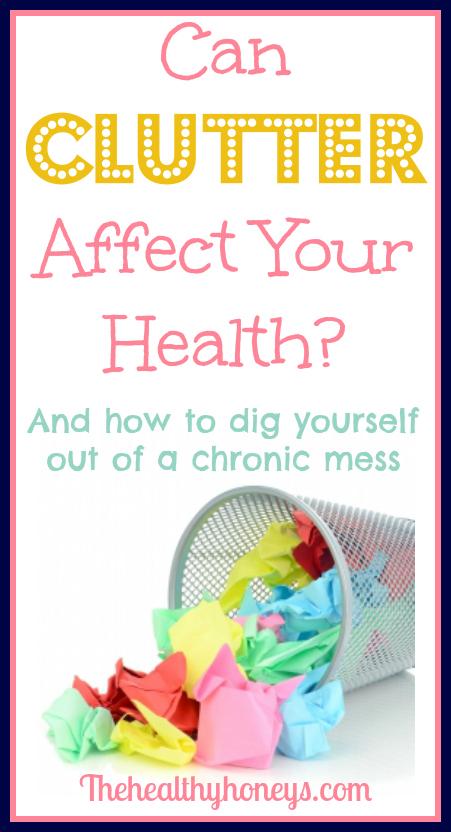 clutter affect health