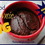 Real Food Brownie in a Mug, Grain-Free