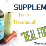 Supplements for a Real Food Diet