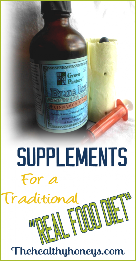 Supplements for traditional diet
