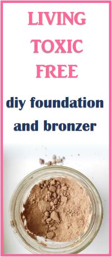 diy toxic free bronzer