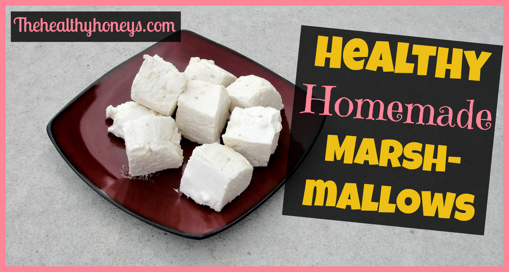 Healthy Homemade Christmas Gifts: Healthy Homemade Marshmallows