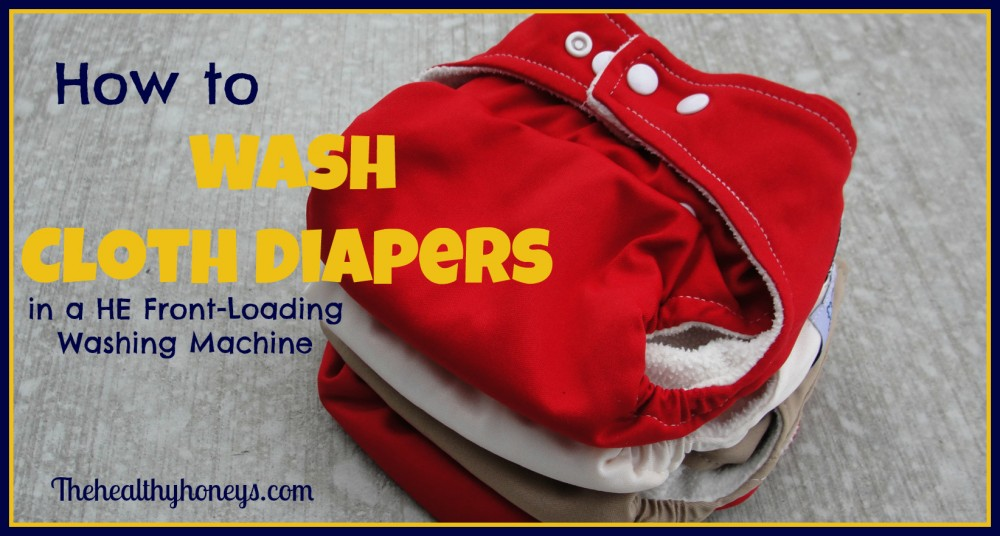 How To Wash Cloth Diapers In A He Front Loading Washing