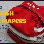 How to Wash Cloth Diapers in a HE Front Loading Washing Machine