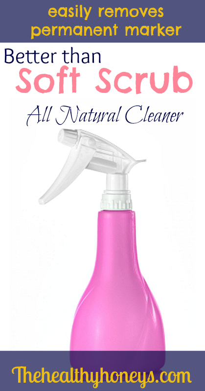 Better than soft scrub all natural cleaner
