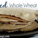 DIY Soaked Whole Wheat Tortillas