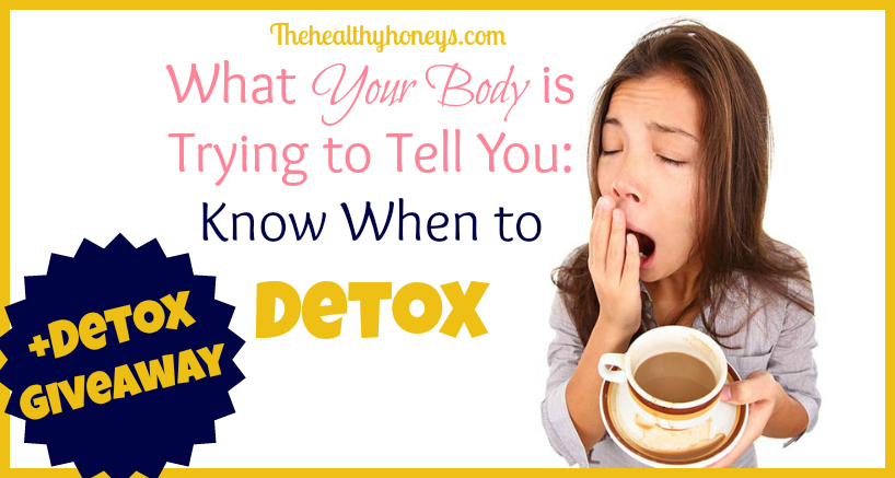 know when to detox giveaway