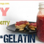 Strawberry Jam with gelatin