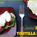 Soaked Rice Tortilla Recipe – Allergy Friendly