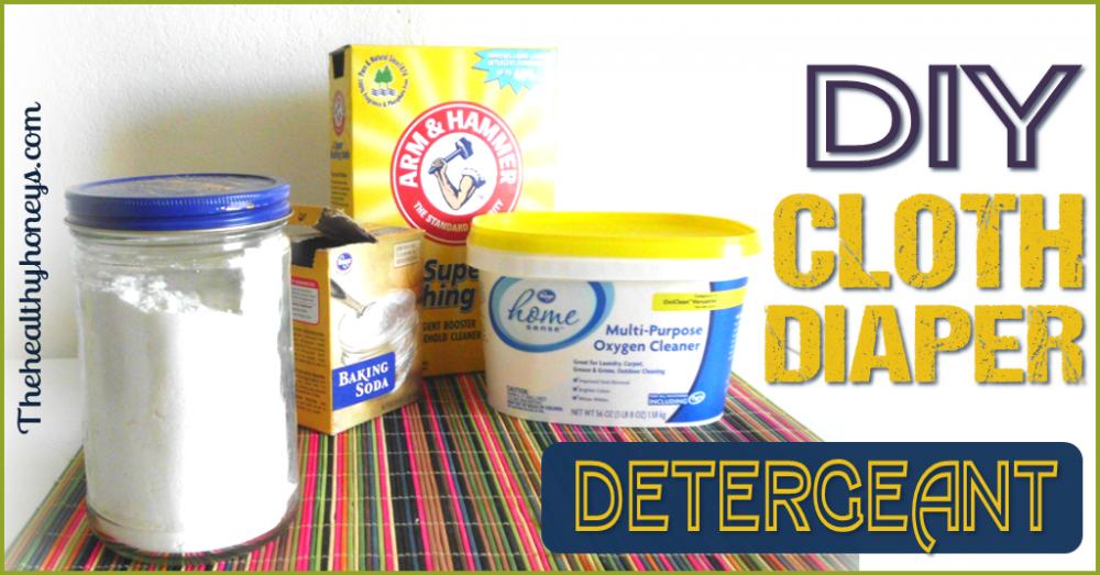 DIY Cloth Diaper Detergent