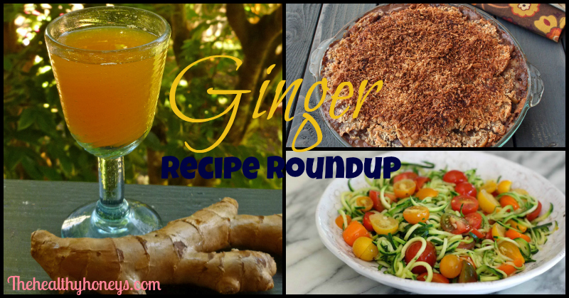 ginger recipe roundup