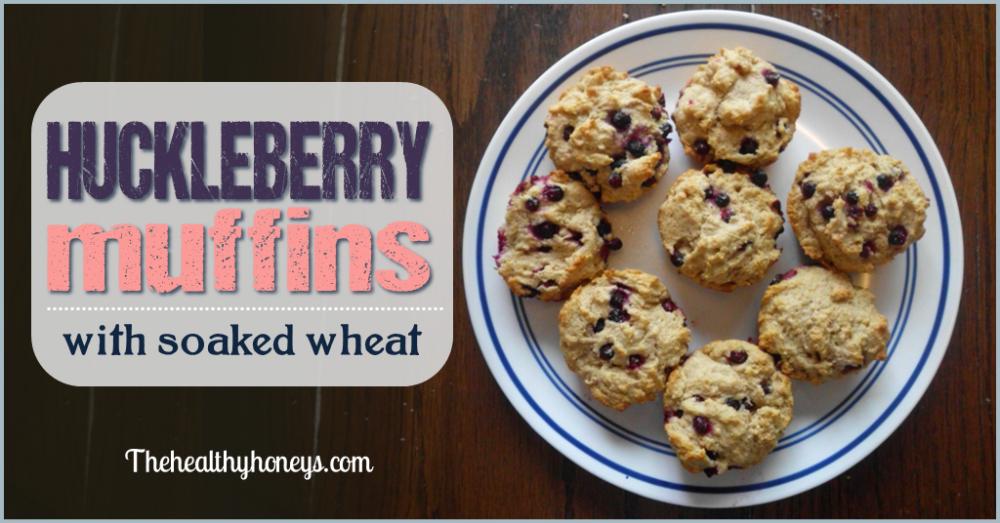 Huckleberry muffins