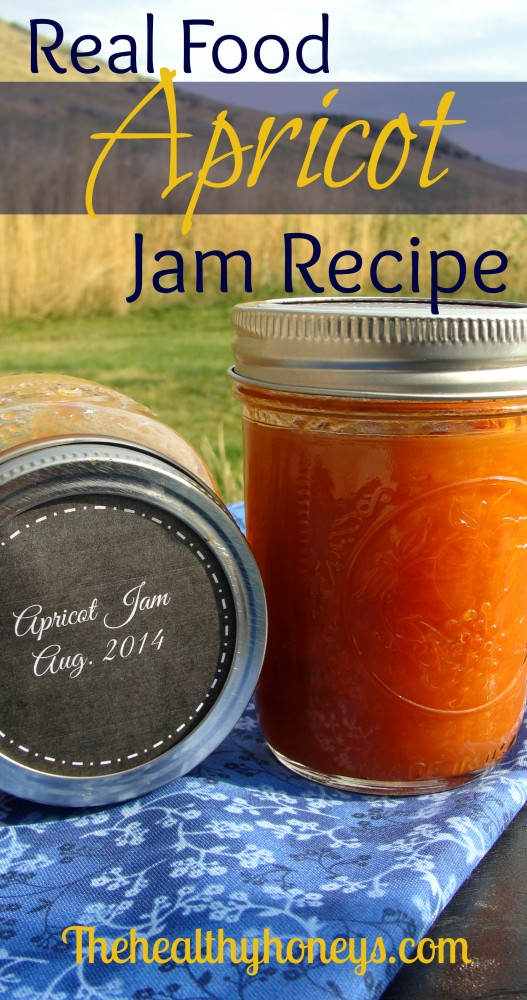Real Food Apricot Jam Recipe
