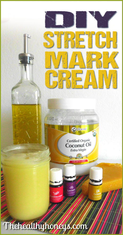DIY stretch mark cream