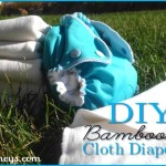DIY Bamboo Cloth Diaper Inserts