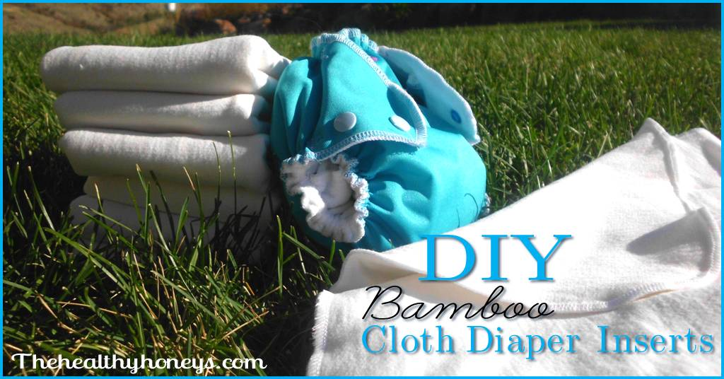 DIY Bamboo Cloth Diaper Inserts