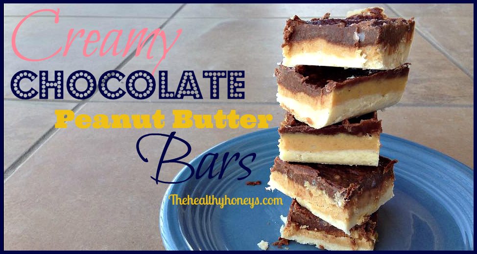 Creamy Chocolate Peanut Butter Bars