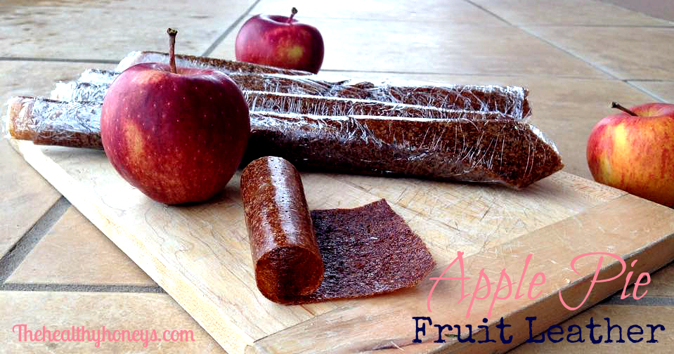 Apple Pie Fruit Leather