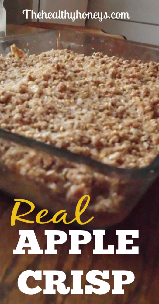 Real Food Apple Crisp