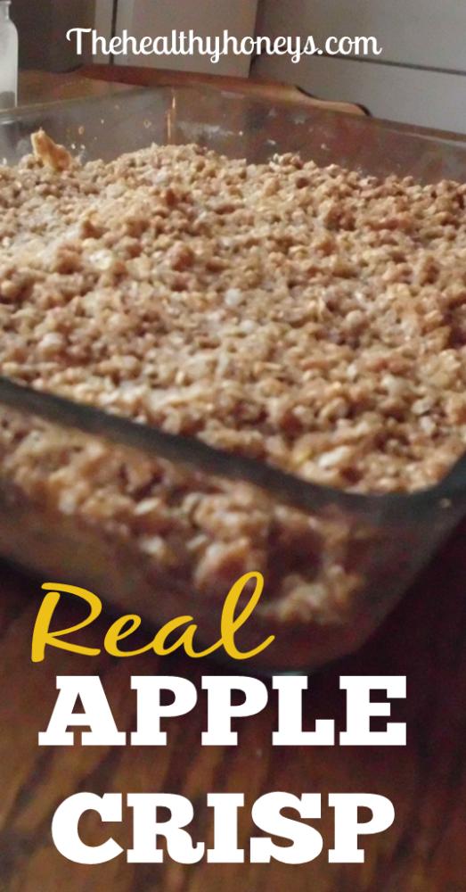 Real Food Apple Crisp
