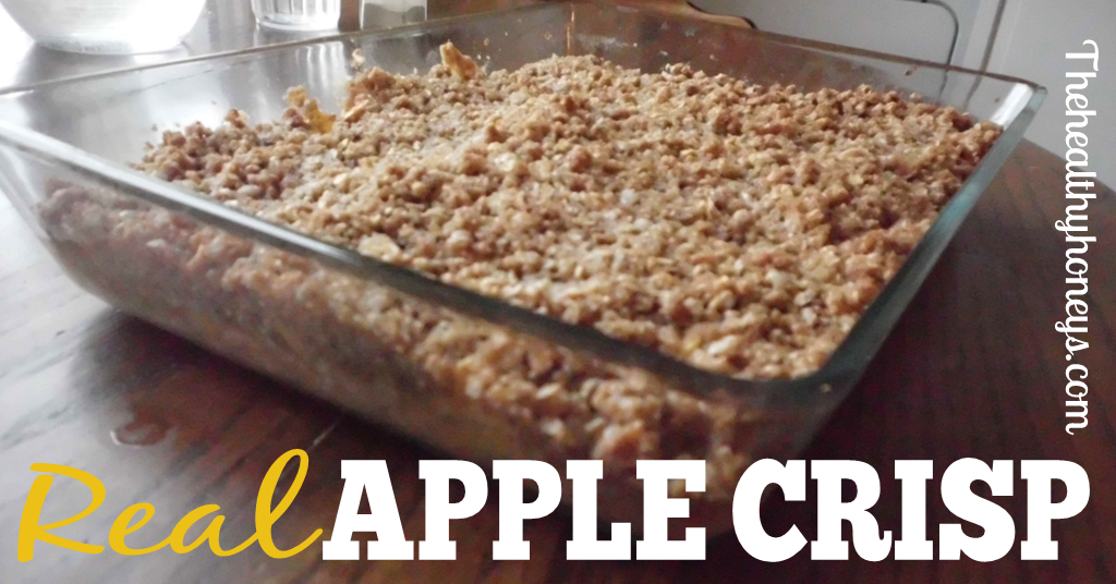 Apple Crisp Recipe with turbinado sugar