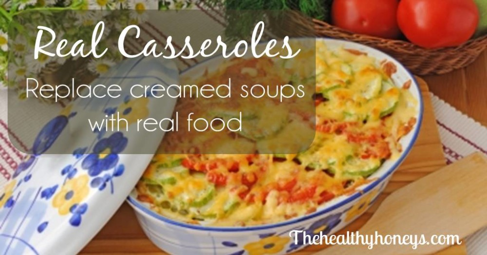 Casserole without cream of mushroom soup