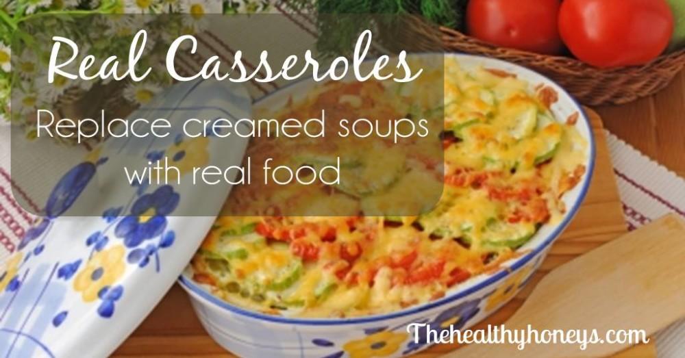 Casserole without cream of mushroom soup