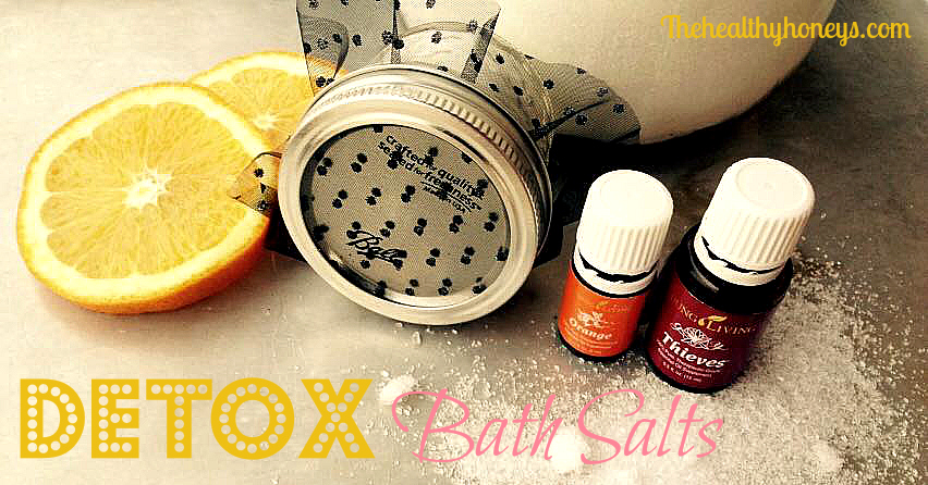 Detox Bath Salts Recipe that Smells Amazing
