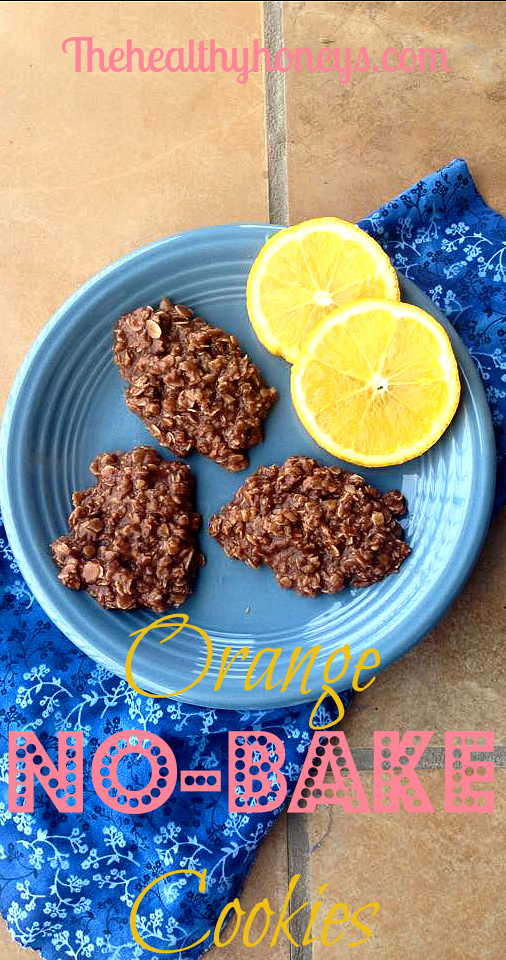 orange no-bake cookies