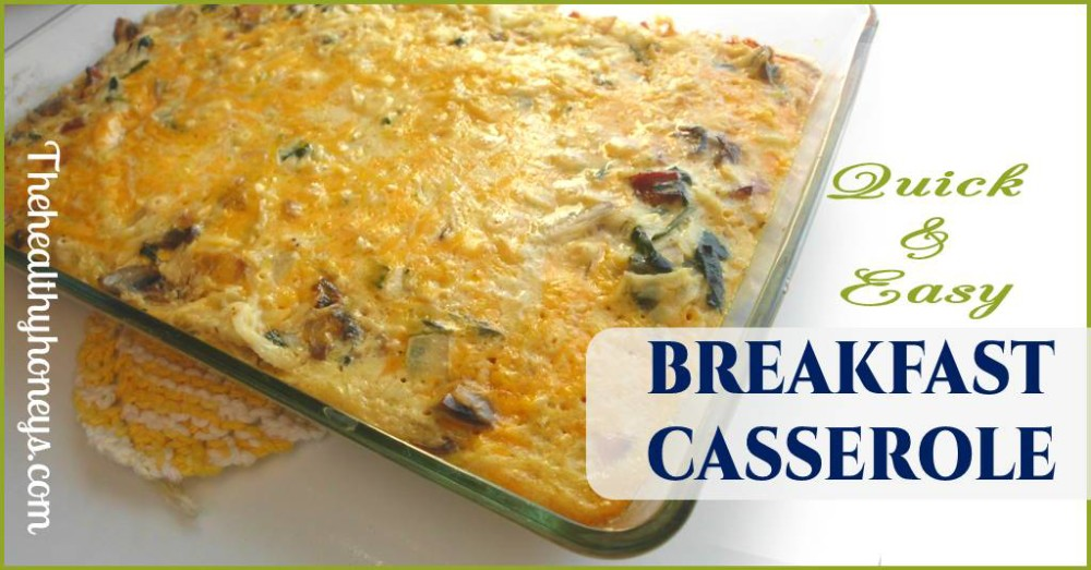 Real Food Breakfast Casserole