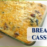 Healthy Breakfast Casserole with Sausage