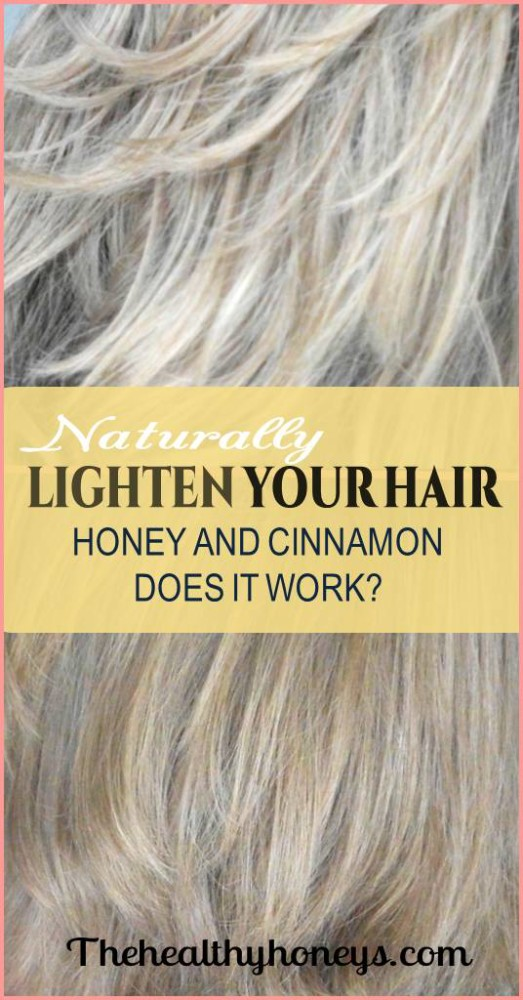 Lighten hair naturally