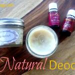 DIY: All Natural Deodorant