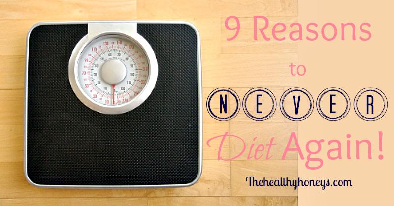 never diet