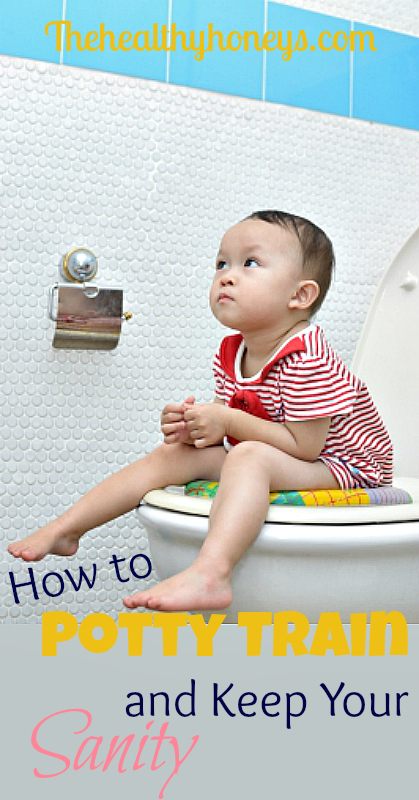 How to Potty Train and Keep Your Sanity