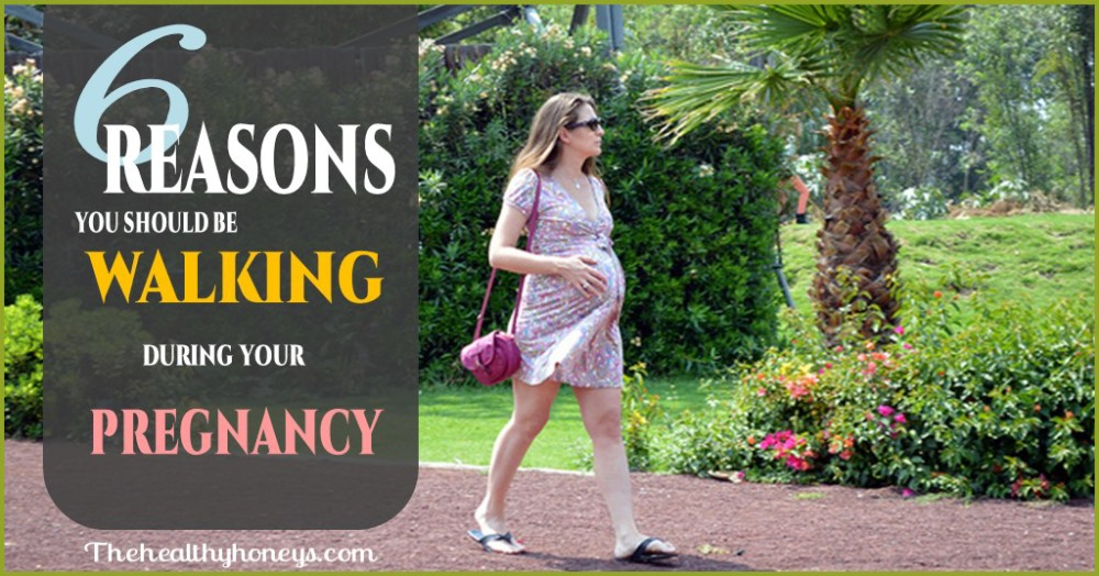 walking while pregnant